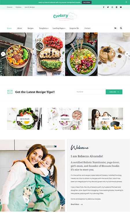 Cookery-food-recipe-wordpress-theme