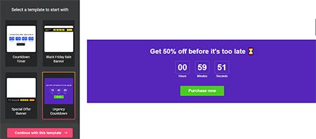 Countdown-Timer-widget