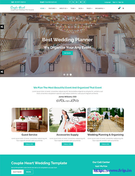 Wedding Website Templates