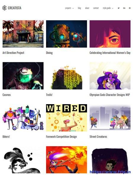 Creatista-Portfolio-WordPress-Theme