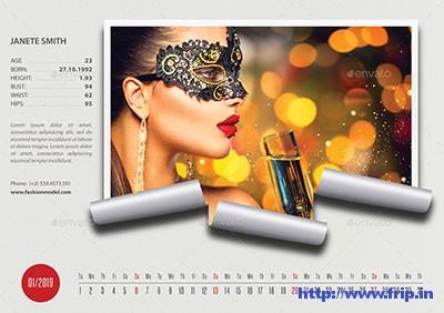 Creative-Desk-Calendar-2020-V13