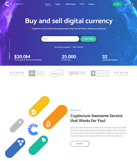 Crypterium-Cryptocurrency-WordPress-Theme