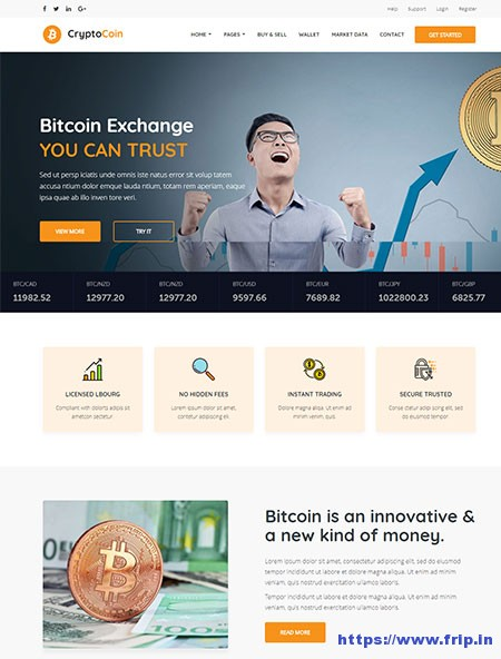 Crypto-Coin-Crypto-Exchange-HTML-Template