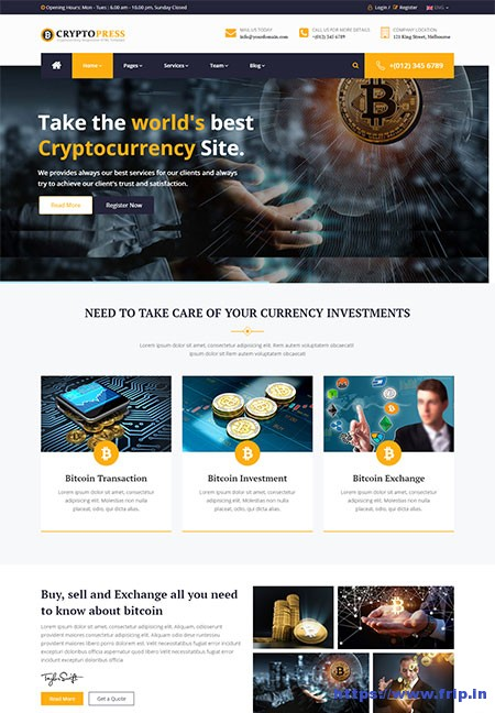 CryptoPress-Bitcoin-Crypto-Currency-Template