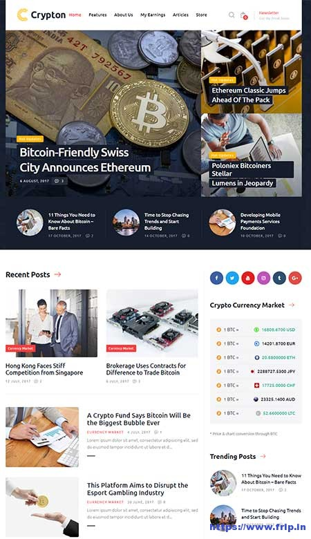 Crypton-Cryptocurrency--Mining-WordPress-Theme