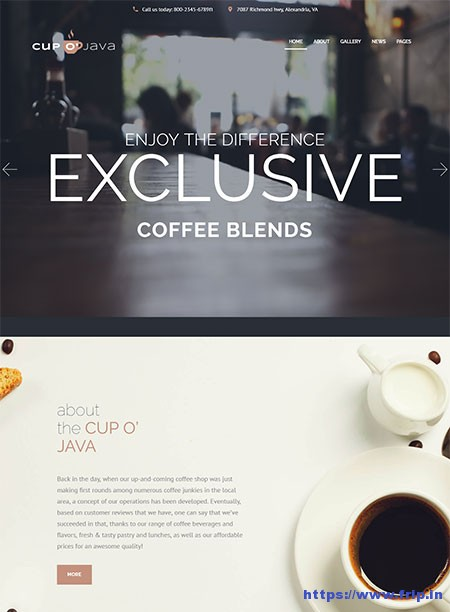 Cup-o-Java-Coffee-Shop-Theme