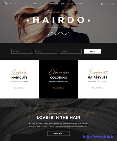 Curly-Hair-Dressers-&-Hair-Salons-Theme