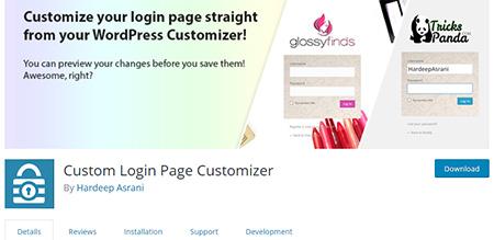 Custom-Login-Customizer