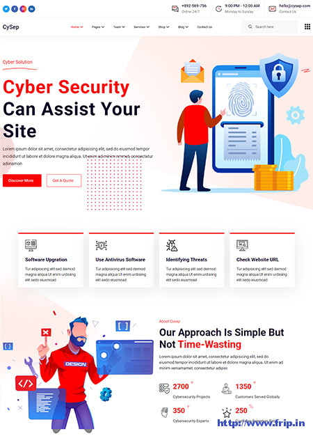 Cysep-Cyber-Security-Services-WordPress-Theme