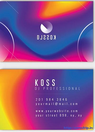 DJ-Business-Card-Templates