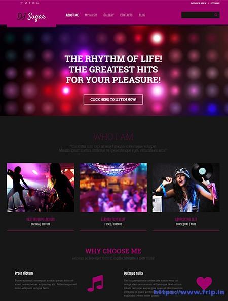 DJ-Responsive-WordPress-Theme