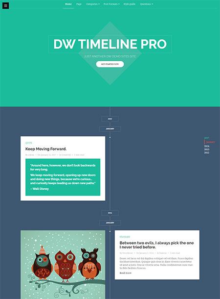 DW-Timeline-Pro-Theme