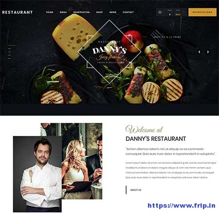 Dannys-Restaurant-&-Cafe-WordPress-Theme