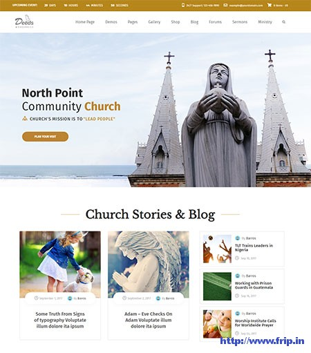 Deeds-Nonprofit-Church-WordPress-Theme