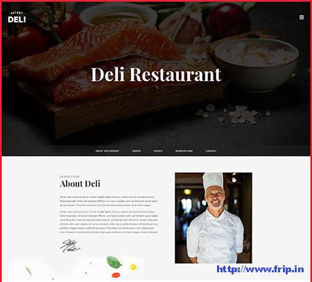 Restaurant PSD Templates