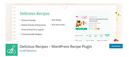 Delicious-Recipes-Plugin