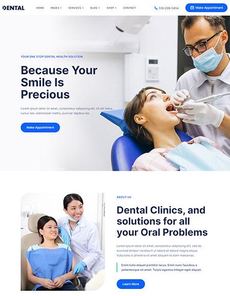 Dental-WordPress-Theme