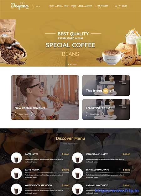 Despina-Coffee-&-Cake-WordPress-Theme