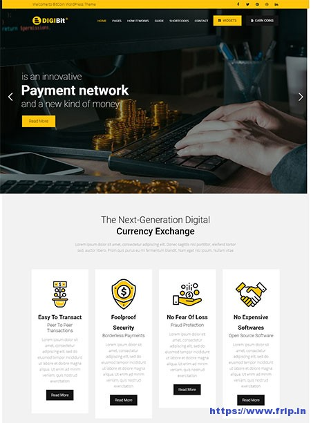 Digibit-Cryptocurrency-WordPress-Theme
