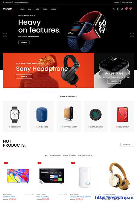 Digic-Electronics-Store-Theme