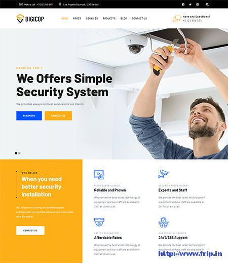 Digicop-Security-&-CCTV-WordPress-Theme