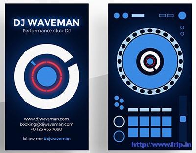 Digital-DJ-Business-Cards