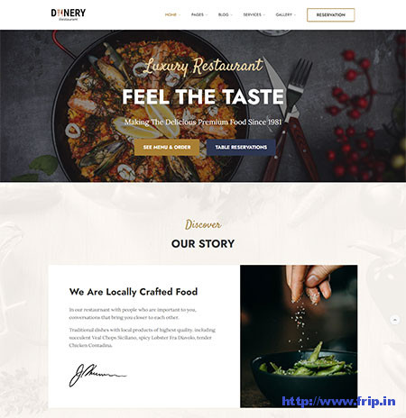 Dinery-Food-Delivery-Restaurant-Theme