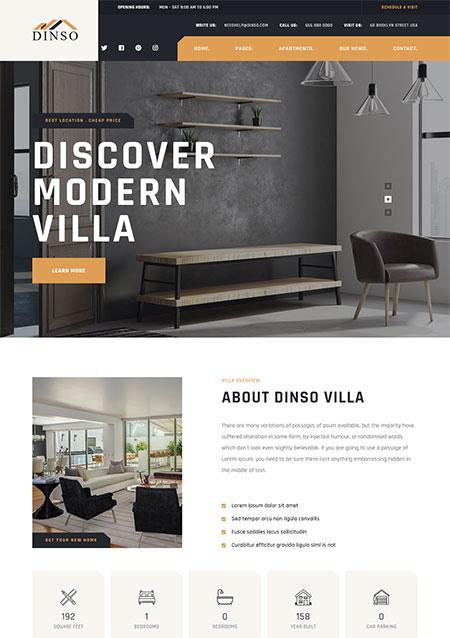 Dinso-Single-Property-WordPress-Theme