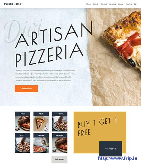 Pizza WordPress Themes