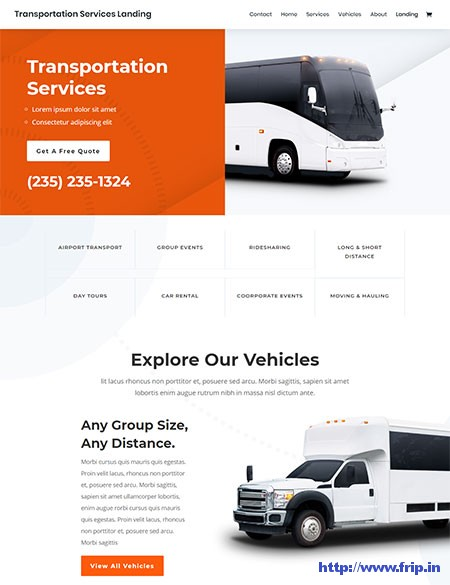 Divi-Transportation-WordPress-Theme