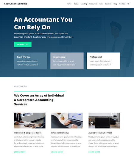 Divi-accountant-WordPress-Theme