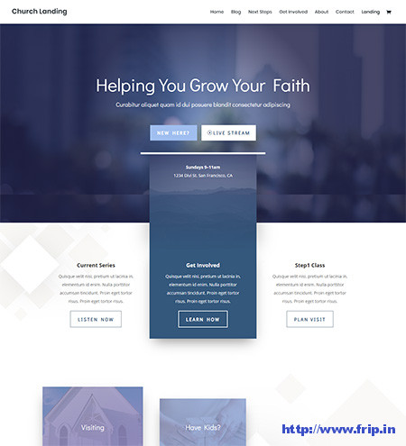 Divi-church-WordPress-Theme