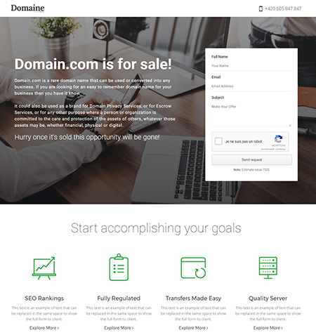 Domaine-Domain-For-Sale-Template