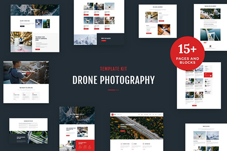 Drone-Media---Photography-Elementor-Template-Kit
