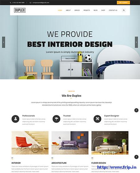 Duplex-Interior-Design-WordPress-Theme