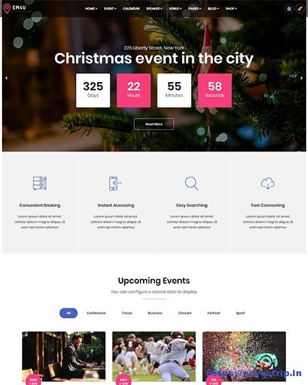 EM4U-Event-WordPress-Theme