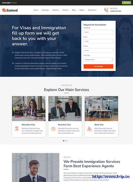 Eastend-Immigration-Visa-Consulting-Theme