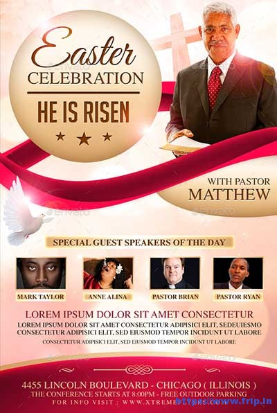 Easter-Celebration-Flyer
