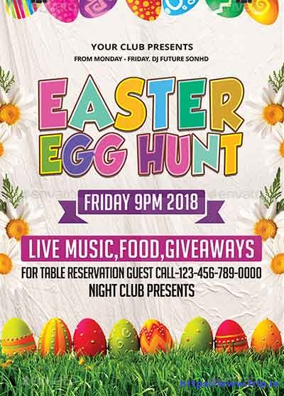 Easter-Egg-Hunt-Flyers