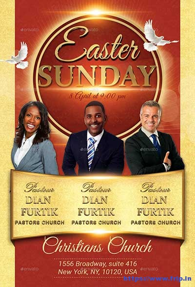 Easter-Sunday-Church-Flyer