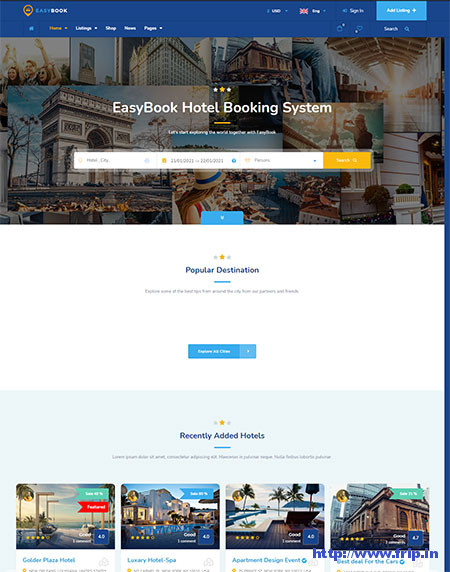 EasyBook-Tour-Booking-Theme