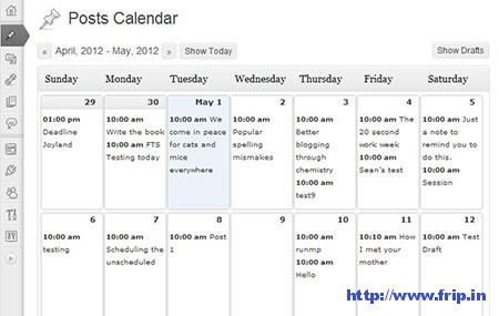 Editorial-Calendar-Plugins