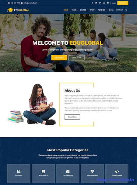 EduGlobal-Education-&-Courses-HTML-Template