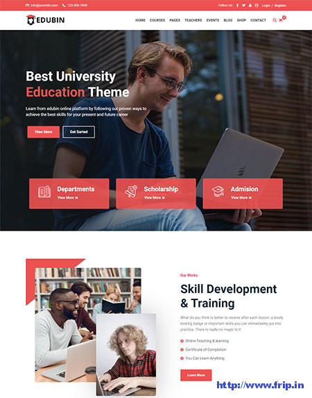 Edubin-learnpress-WordPress-Themes
