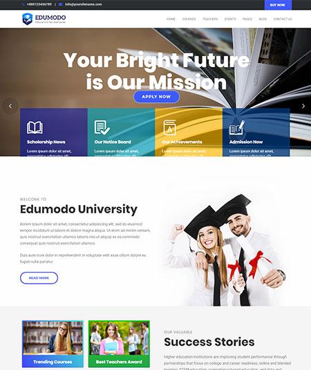 Edumodo-learndash-WordPress-Theme