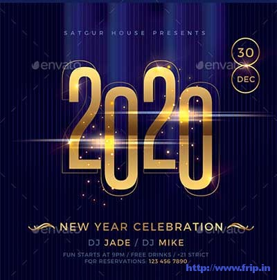 Elegant-New-Year-Flyer