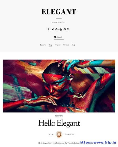 Elegant-Portfolio-WordPress-Theme