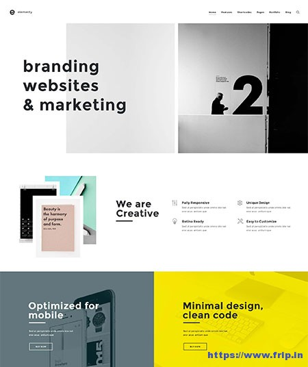 Elementy-Multipurpose-Website-Template