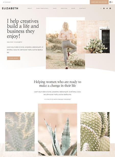 Elizabeth-WordPress-Theme