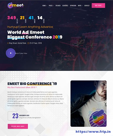 Emeet-Event-WordPress-Theme